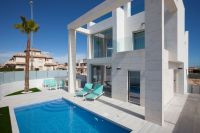 New Villas Complex with Private Pool in Cabo Roig, Orihuela Costa